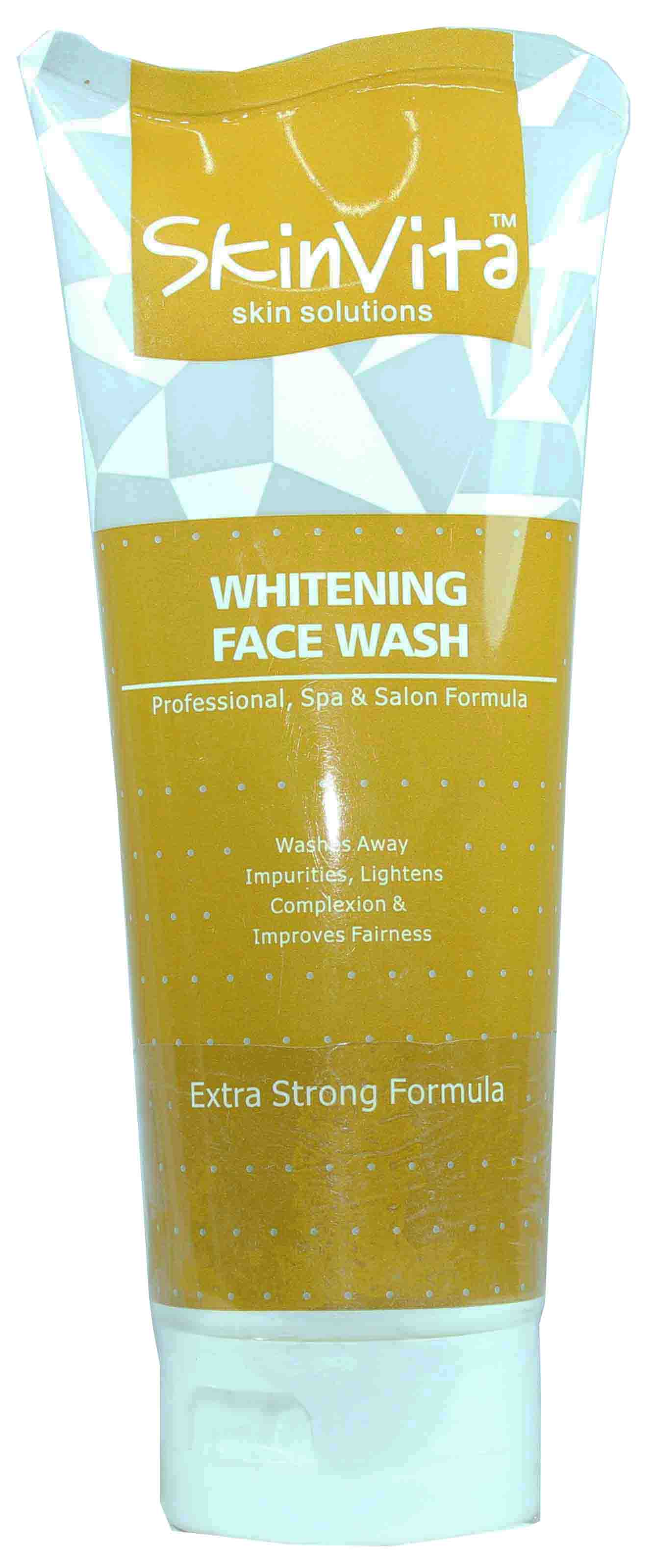 skin vita whitening face wash 150ml